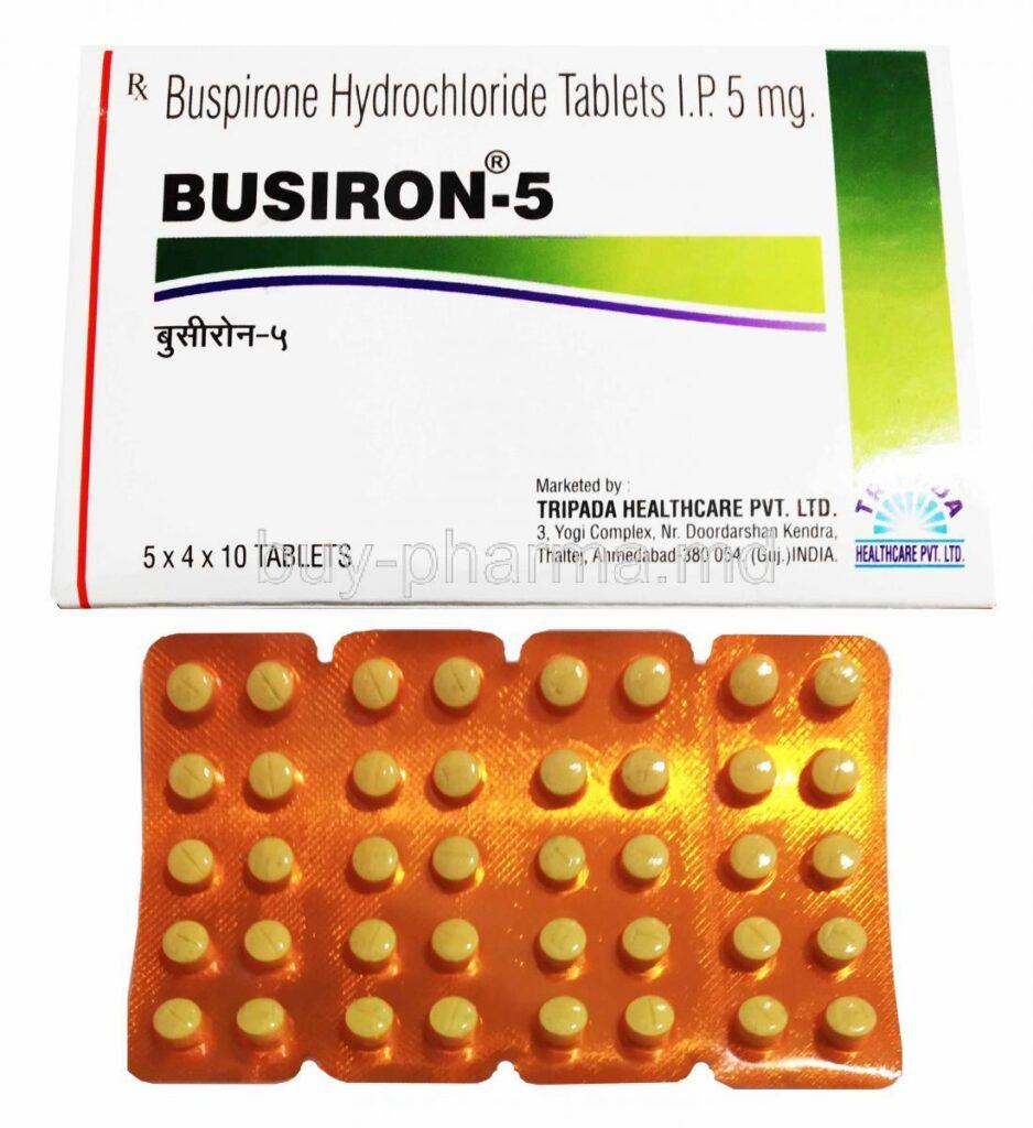 buspirone trade name
